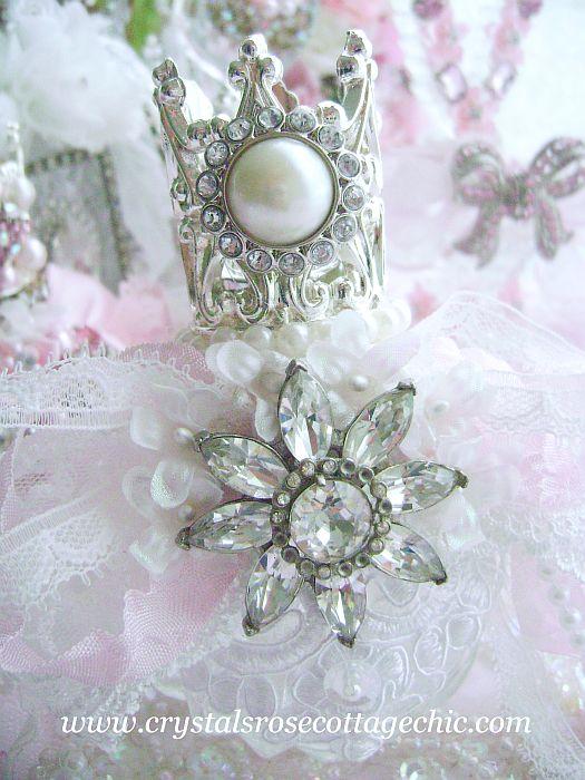 Bejeweled Crown Perfume Bottle