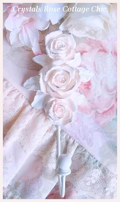 Shabby Rose Holdback...Color Choices