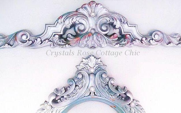 Silver Lux Pediment -  Color Choices