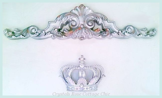 Silver Lux Pediment -  Color Choices