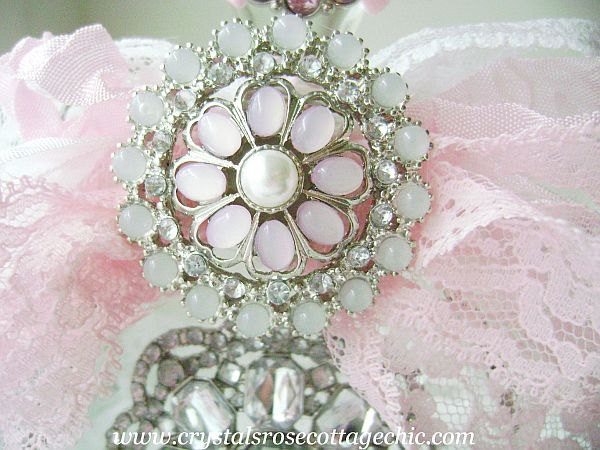 Shabby Chic Bling Perfume Bottle