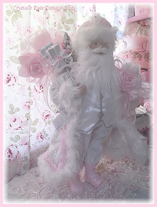 Shabby Chic St. Nick