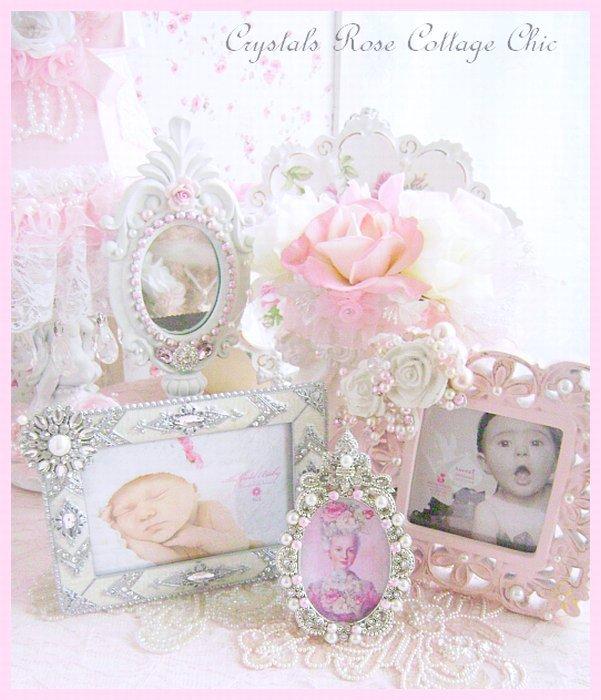 Fleur de Lis Embellished Frame