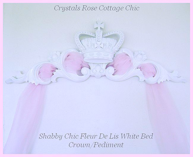 Tulle for your Bed Crown / Pediment