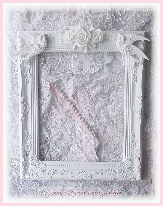 "Ornate, 11"" x 14"", Rose Trio and Swallow Frame....Color Choices"