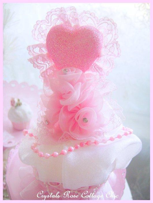 Valentines Day Cupcake Decor