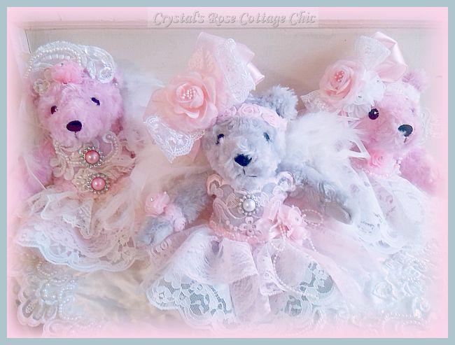 Precious Plushies: Bears, Bunnies and Kitties