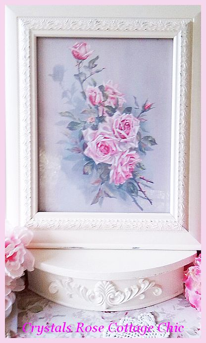 Shabby Cottage Shelf....Color Choices