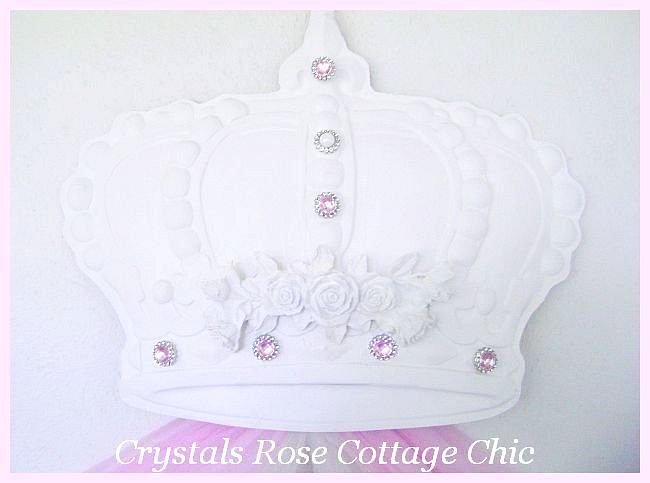 Shabby Rose Bella Bed Crown