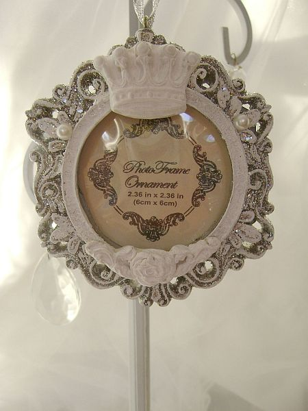 Royal Crown Frame Ornament