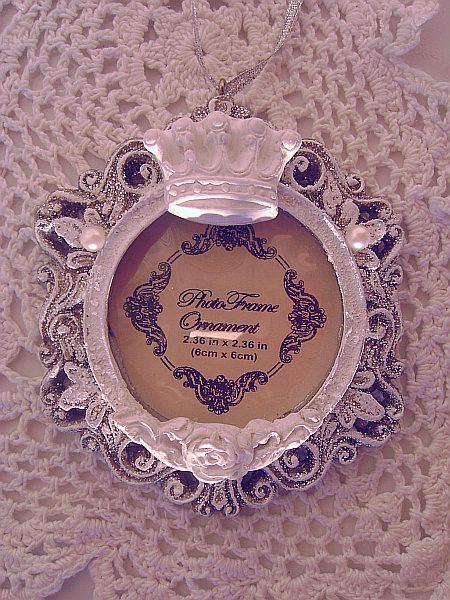 Royal Crown Frame Ornament