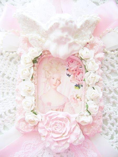 Shabby Sugared Cherub Pink Victorian Marie Antoinette