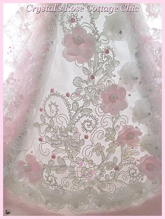 Princess Lace & Fleur Angel Tree Topper