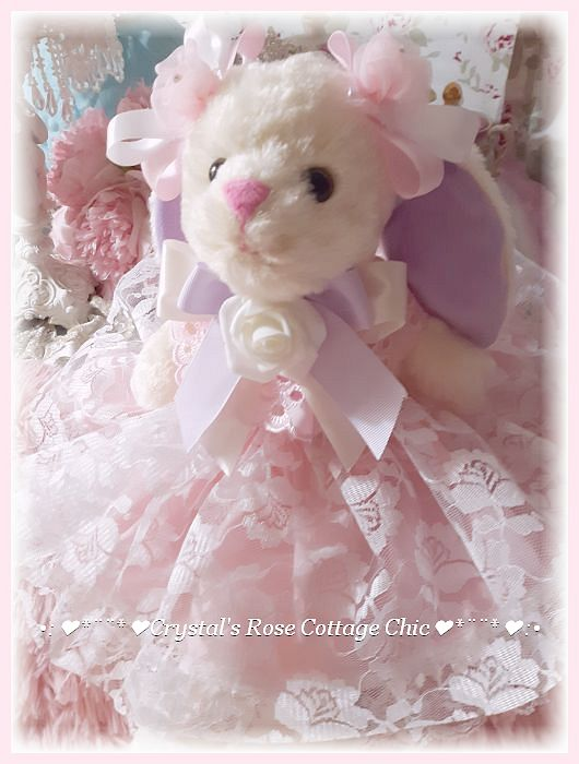 Shabby Chic Lacey Bunny