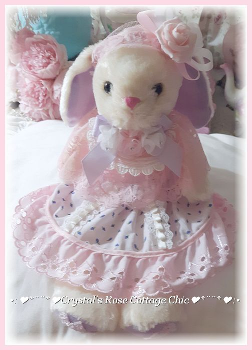 Shabby Chic Emily Bunny