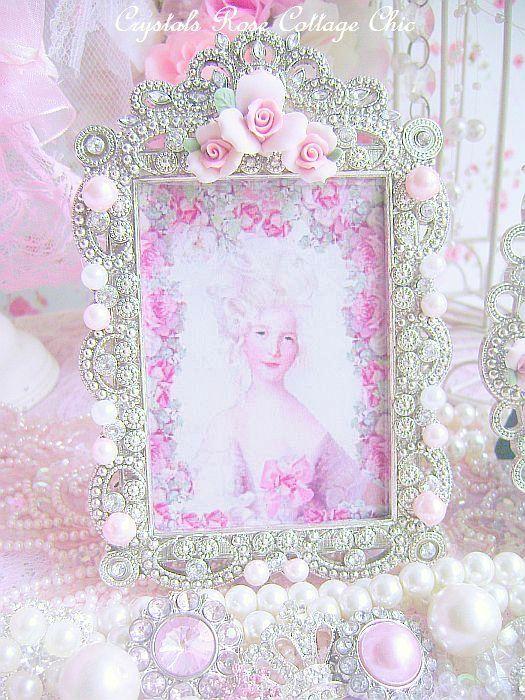 Pink Porcelain Rose Marie Frame 2
