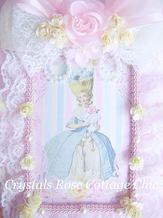 Shabby Pastel French Marie Journal