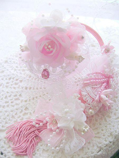 Romantic Pink Rose Parfum Atomizer