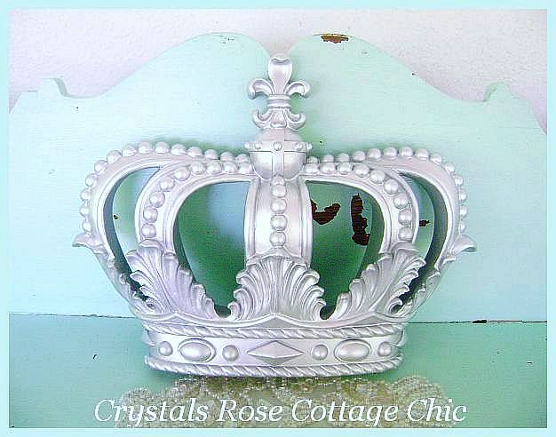 Silver Fleur de Lis Crown