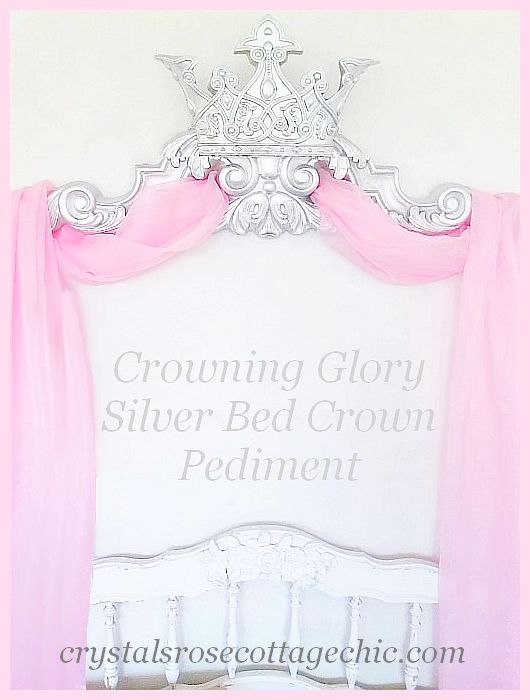 Crowning Glory Silver Pediment..Color Choices