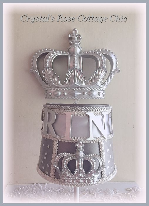 Prince Nursery Crown Lamp