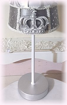 Prince Nursery Crown Lamp