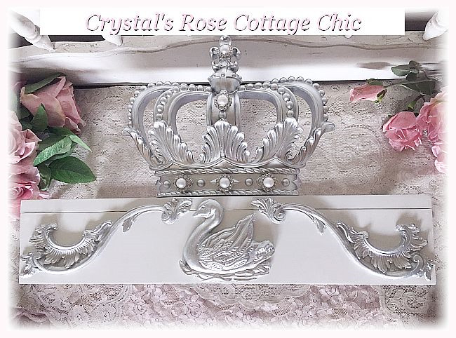 Swan Bed Crown Canopy Teester