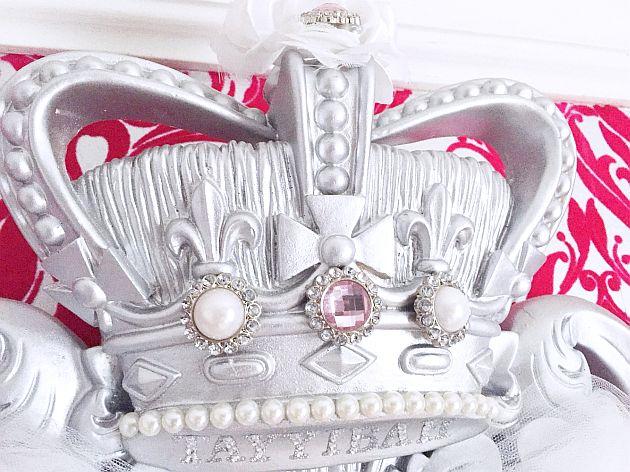 Custom Rose silver Princess Crown