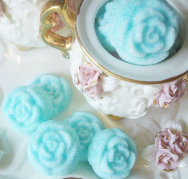 Turquoise Sugar Roses