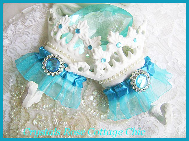 Turquoise Trim Crown Hook