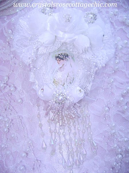 Victorian Bridal Romance Ornament 1