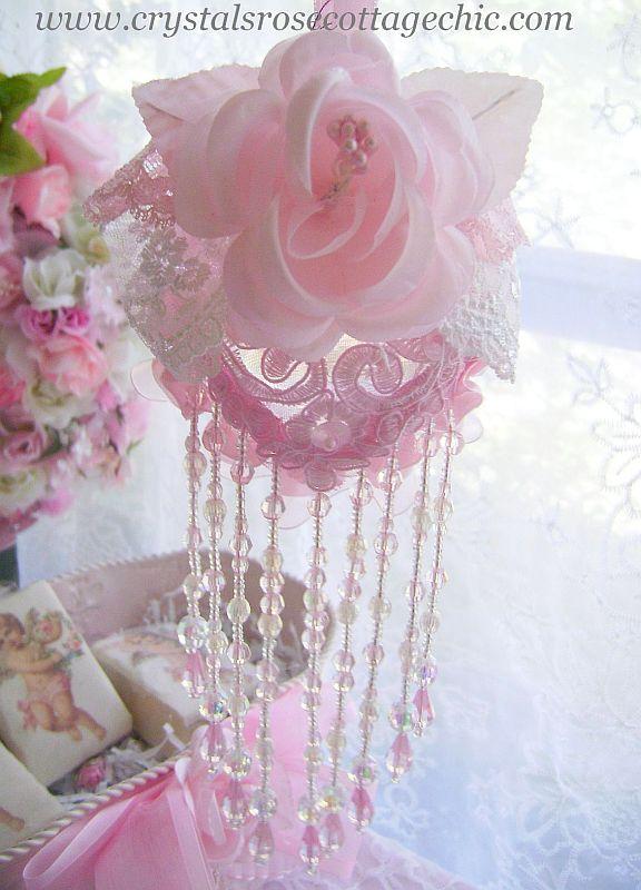 Pink Victorian Romance Ornament