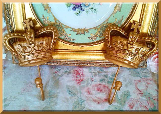 British Crown Hook in Vintage Gold...Color Choice