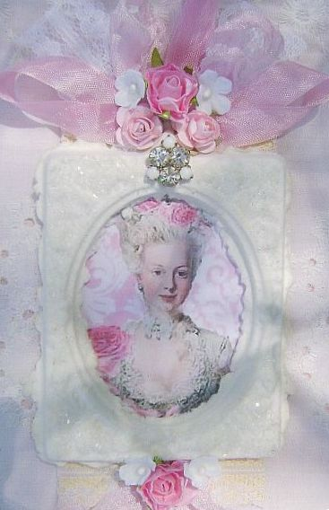 For the Love of Roses, Vintage Marie Tag