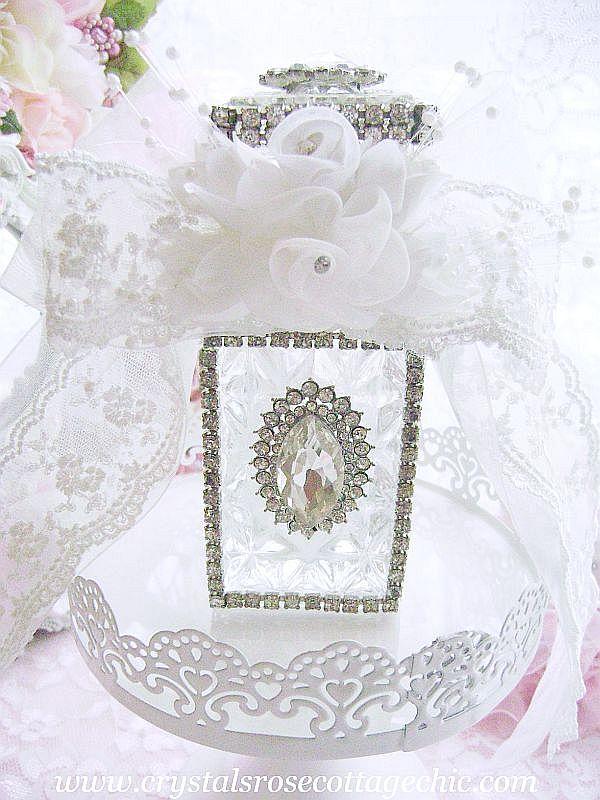 Vintage Romance Perfume Bottle