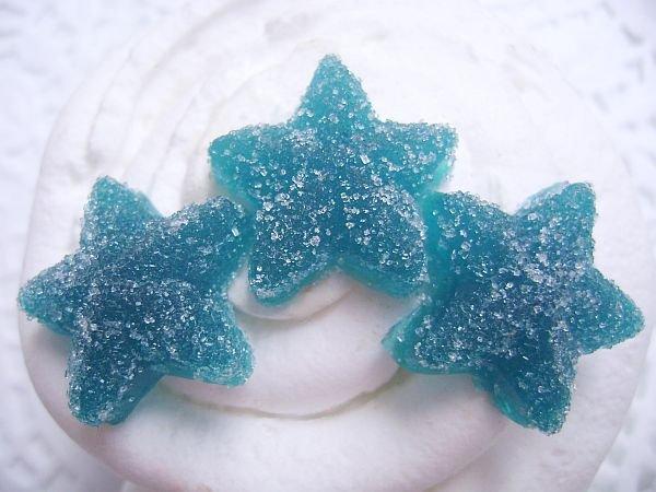 Berry Blue Gummy Star Candy