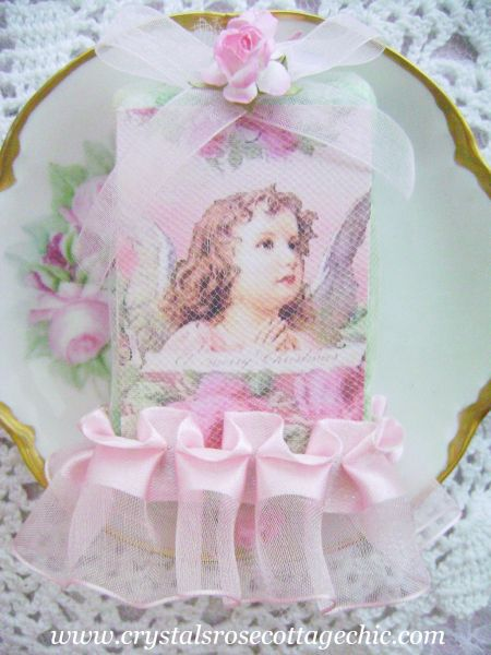Sweet Pink Cherub Soap
