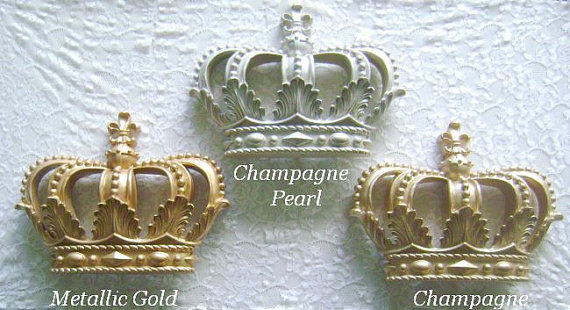 Fleur de Lis Crown..Color Choices