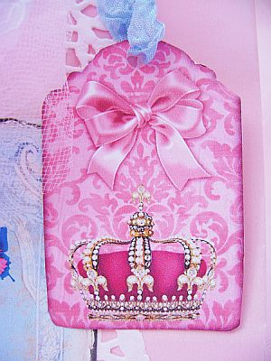 Marie Antoinette Pink Gift Bag