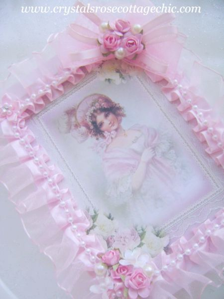 La Belle Victorian Girl in Pink Journal