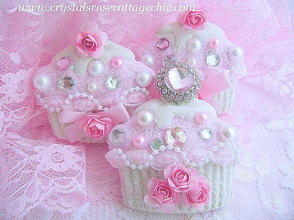 Bejeweled Cupcake Ornament
