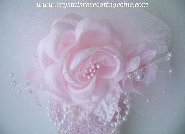 Double Fringe Victorian Romance Ornament
