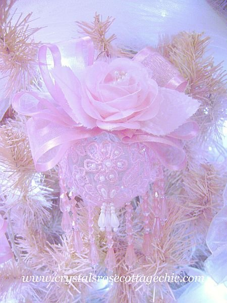 Victorian Pink Bliss Ornament