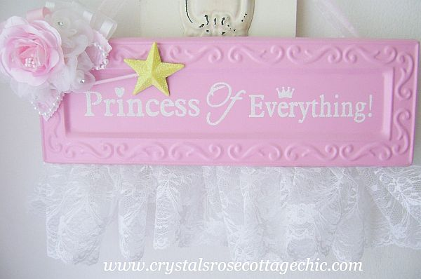 Pink Princess of Everything Sign