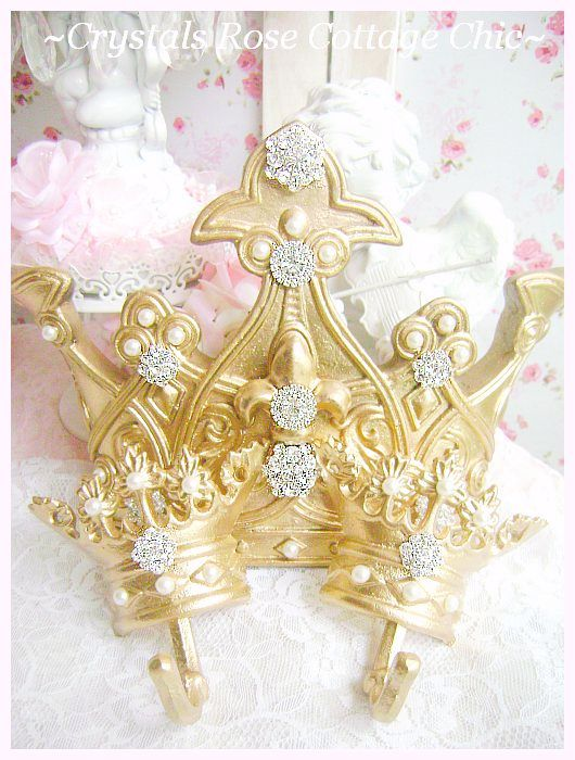 Queen of Bling Bed Crown Set...Color Options