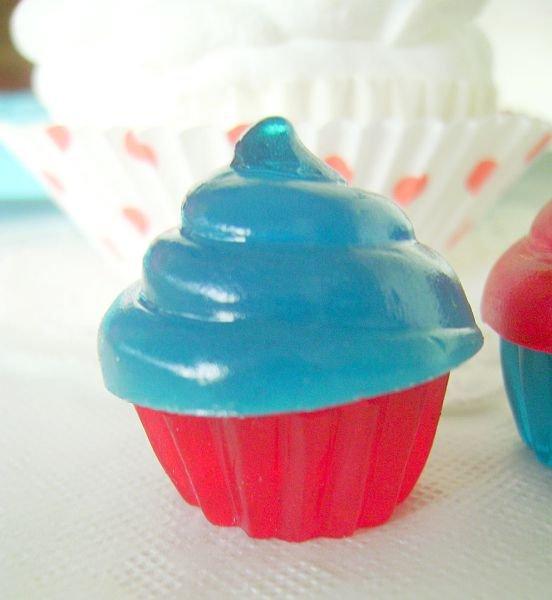 Blue Cupcake Gummies