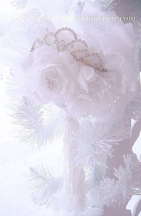 Keepsake Rhinestone Tiara Ornament