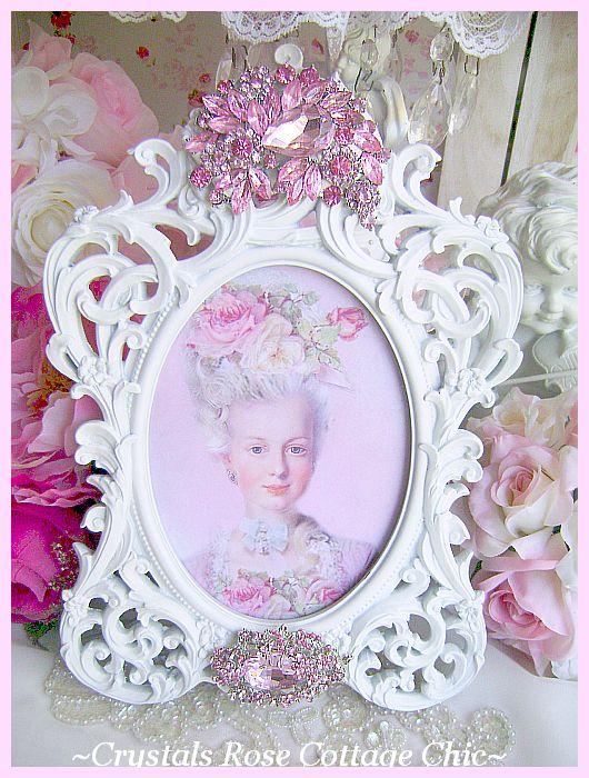 Pink Crystal Bejeweled Frame