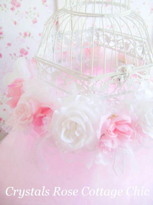 Romantique Rose Bird Cage Tutu Slide