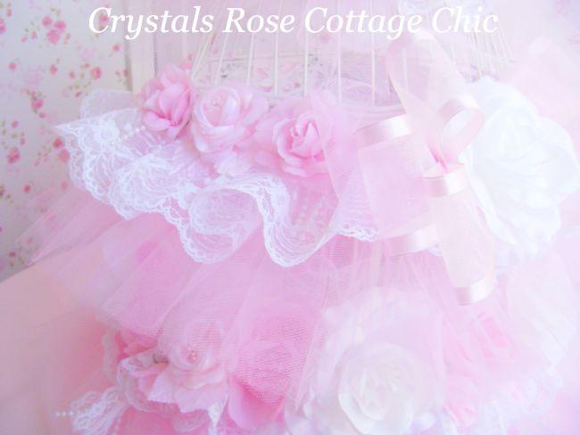 Bird Cage Tutu Shabby Pink